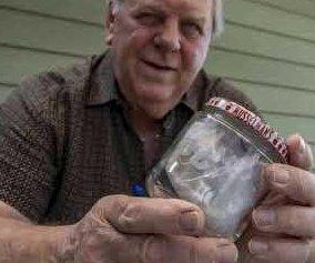 Illinois man has kept Richard Nixon's unfinished sandwich for 60 years