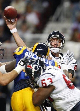 Schaub among Pro Bowl replacements