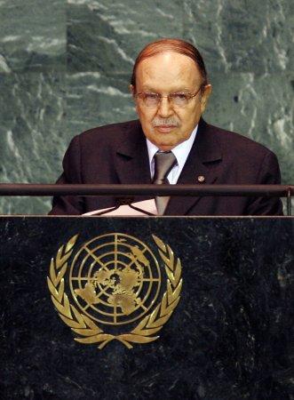 5 weeks after 'mini-stroke,' Algeria's leader in limbo
