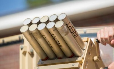 Marines getting non-lethal munitions system for use at checkpoints