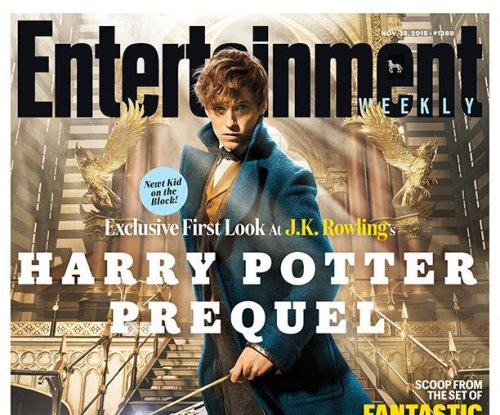 Eddie Redmayne covers EW as Newt Scamander