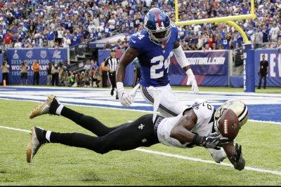 New York Giants CBs Eli Apple, Dominique Rodgers-Cromartie injured