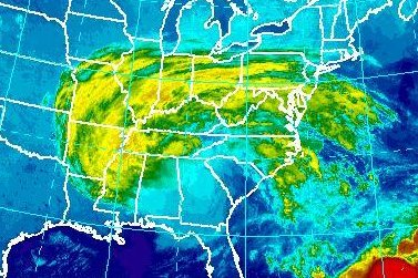 Post-Tropical Cyclone Irma brings rain, could dissipate Tuesday