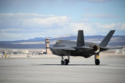 Air Force to reactivate aggressor squadron at Nellis for F-35 training
