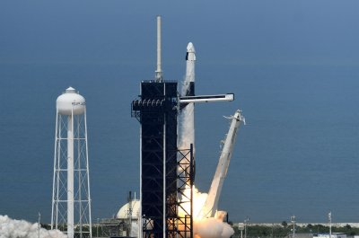 Watch live: NASA astronauts on way to space station in SpaceX capsule