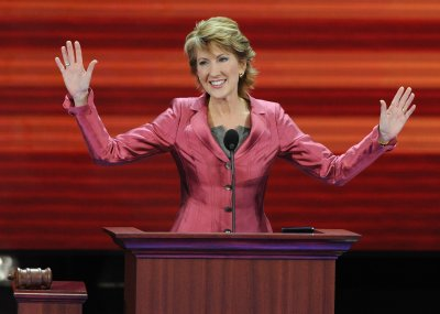 Bad 'hair' day for Fiorina?