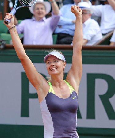 Shoulder injury ends Sharapova's season