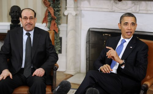 Iran steps in to prop up Iraq's Maliki