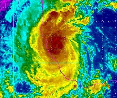 Katia dissipates after making landfall in Mexico