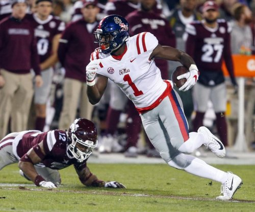 Ole Miss Rebels roll after Mississippi State Bulldogs lose Nick Fitzgerald
