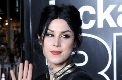 Kat Von D announces marriage to Prayers singer Leafar Seyer