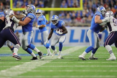 Kerryon Johnson ends Lions' 100-yard rushing drought