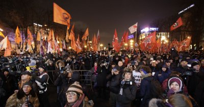 Opposition to Putin continues