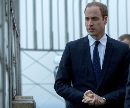 Britain's Prince William launches official China visit