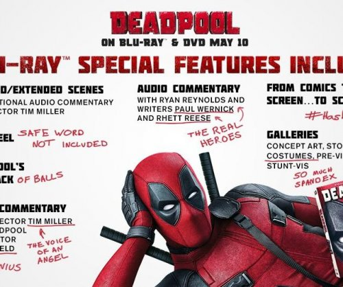 'Deadpool' DVD/Blu-Ray special features revealed