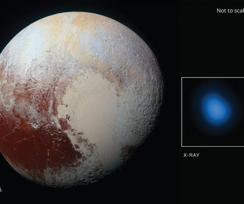 Chandra detects low-energy X-rays from Pluto