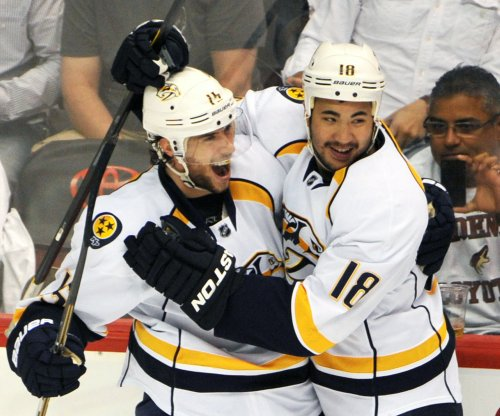 Craig Smith's rare goal lifts Nashville Predators past Columbus Blue Jackets