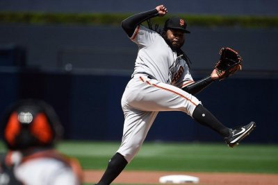 Johnny Cueto continues domination of San Diego Padres in 5-3 San Francisco Giants victory