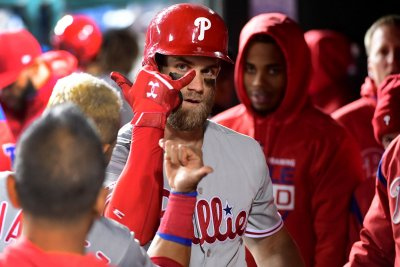 Phillies' Bryce Harper takes former Nats teammate Stephen Strasburg deep with 400-foot HR