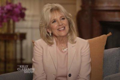Jill Biden assures Kelly Clarkson 'things will get better' after divorce