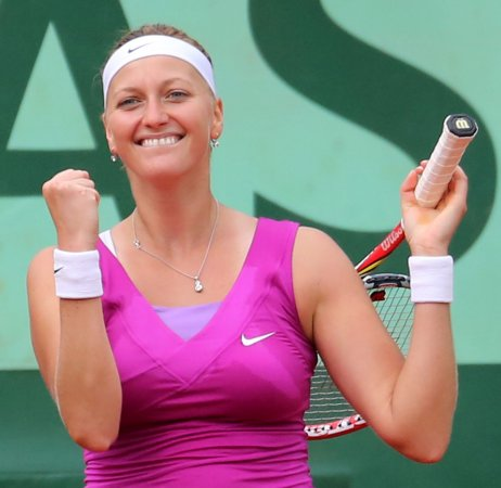 Kvitova, Li move up in tennis rankings