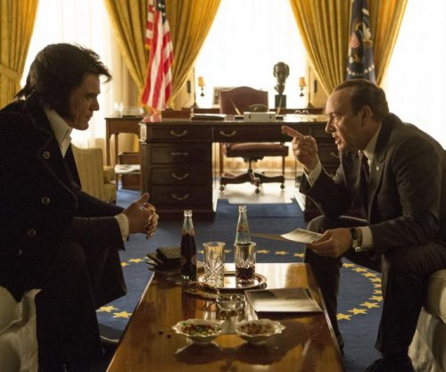 See Kevin Spacey and Michael Shannon as Nixon and Presley