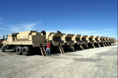 U.S. Army orders trucks for Afghanistan