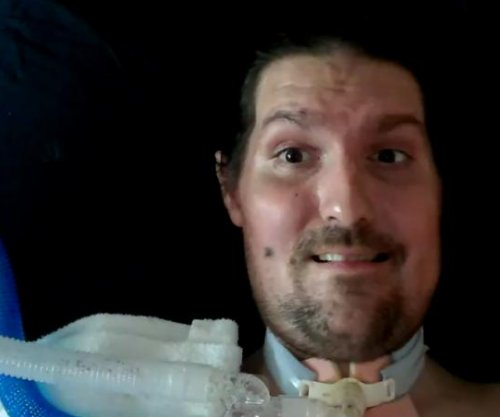 ALS Ice bucket inspiration Frates back in Boston hospital