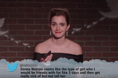 Jim Parsons, Emma Watson read Mean Tweets on 'Jimmy Kimmel'