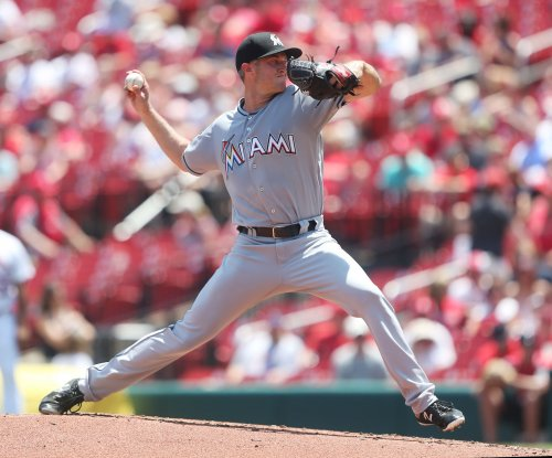 Marlins' Trevor Richards pitches gem for first MLB win vs. Giants