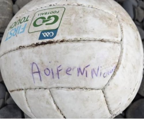 Irish girl's lost soccer ball floats 124 miles to Welsh beach
