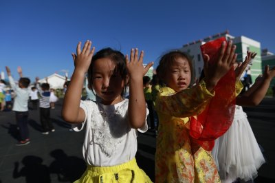 North Korean children learn English with new tools, state media says