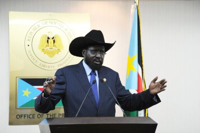 South Sudan president fires government, including vice president