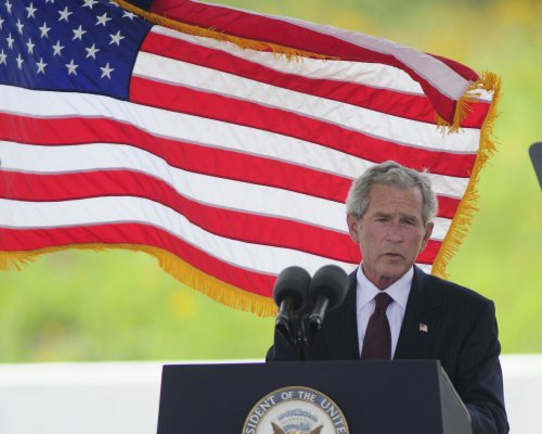 George W. Bush says he's for Romney