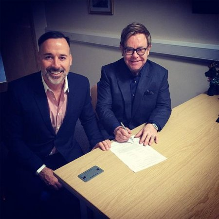 Elton John and David Furnish get married in England