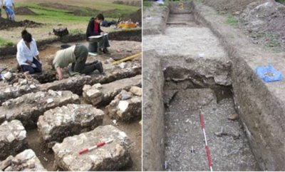 Ancient Roman theater unearthed in Britain