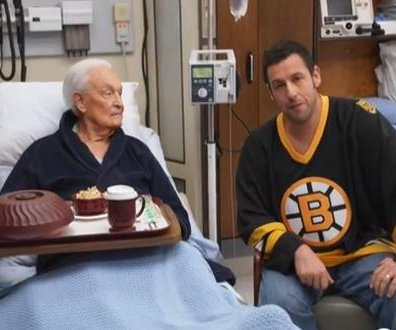 Adam Sandler, Bob Barker continue 'Happy Gilmore' brawl for charity promo