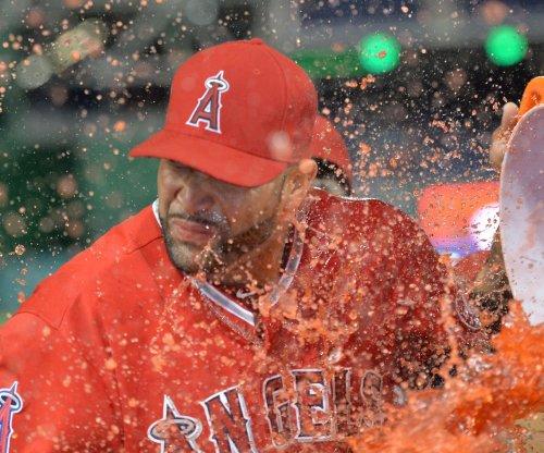 Albert Pujols hits 569th career HR as Los Angeles Angels blank Texas Rangers