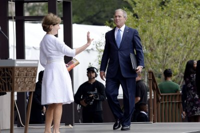 George W. Bush did not cast vote for president, spokesman says