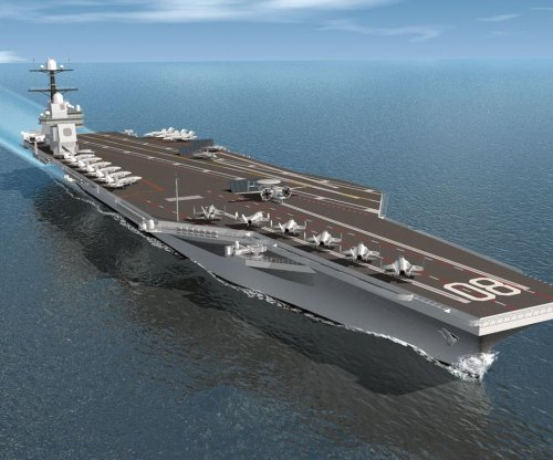 HII to perform additional fabrication for third Ford-class carrier