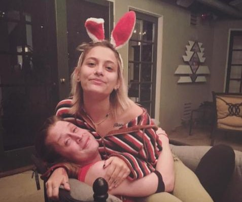 Paris Jackson reunites with godfather Macaulay Culkin