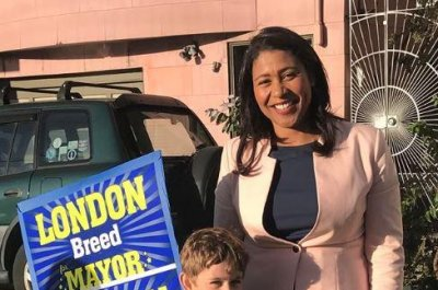 London Breed becomes first black woman elected San Francisco mayor