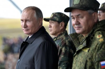 Putin praises Chinese military during massive joint drill