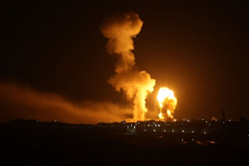 Israel, Gaza exchange rocket fire after 2 Palestinians shot on Gaza Strip border