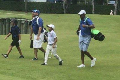 Tiger Woods' 11-year-old son, Charlie, wins U.S. Kids Golf event