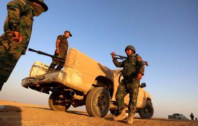 Iraq's Kurdistan Regional Government deploys Peshmerga fighters to Kobane