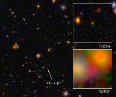 Caltech scientists detect farthest galaxy