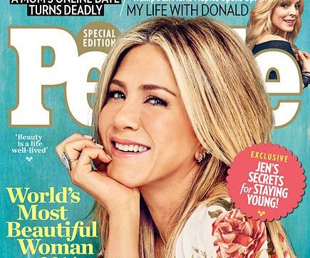 Jennifer Aniston named People's Most Beautiful Woman