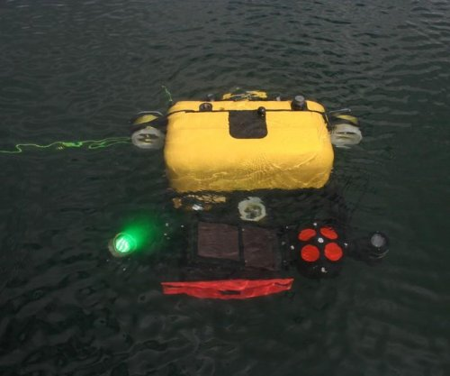 GenDyn features Bluefin Robotics underwater drone