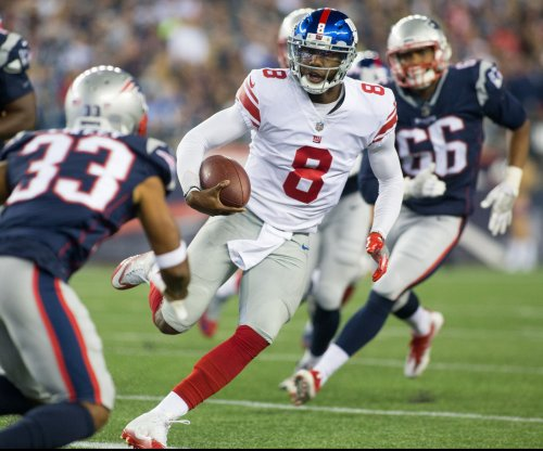 New York Giants edge New England Patriots in preseason shootout